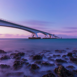 ochtendgloren zeelandbrug