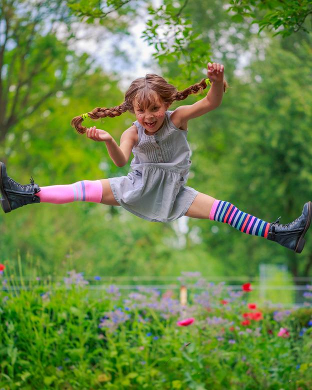 Het Sterkste Meisje  - Onze dochter voor een verkleedfeestje