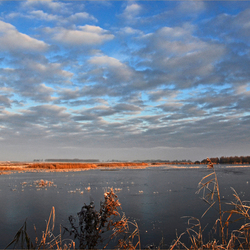 het lauwersmeer...