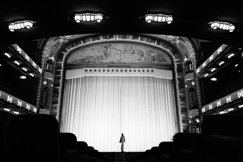 Tuschinski Theater - Amsterdam - Grote zaal van het Tuschinski theater in Amsterdam.
