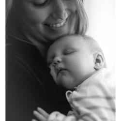 Moeder-dochter-moment
