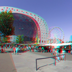 Markthal Rotterdam 3D GoPro 200mm