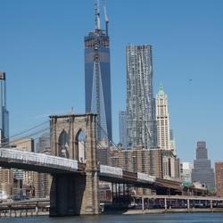 Manhattan vanaf Brooklyn
