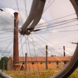 fabriek in wiel