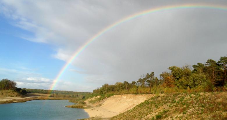 Rainbow... - over het Noord-Limburgse Land.