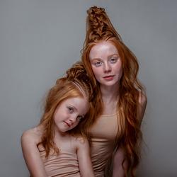 Saskia en Rosalie