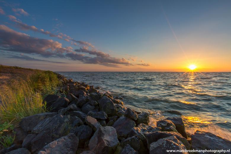 Markermeer ! - Markermeer ! prachtig begin zomerdag zonsondergang !