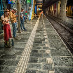 station Blaak Rotterdam