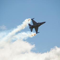 F-16 Demoteam in actie