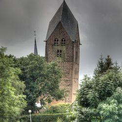 De kerktoren van Bedum Gr.