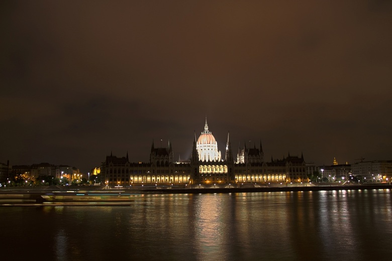 Parliament Budapest by night - Parliament Budapest by night
