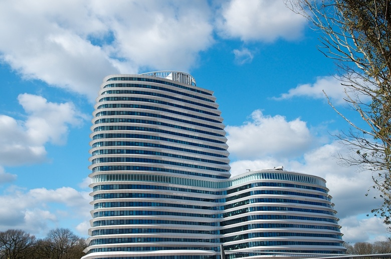 DUO - Het nieuwe gebouw van de DUO in Groningen