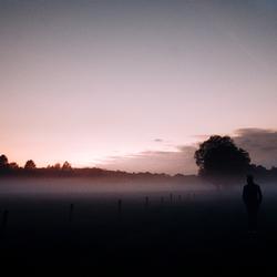''Man in the mist.''