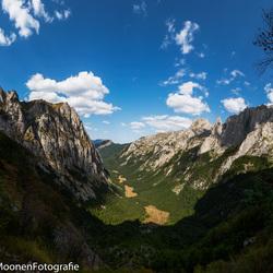 In blik in de vallei