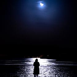 In het maanlicht