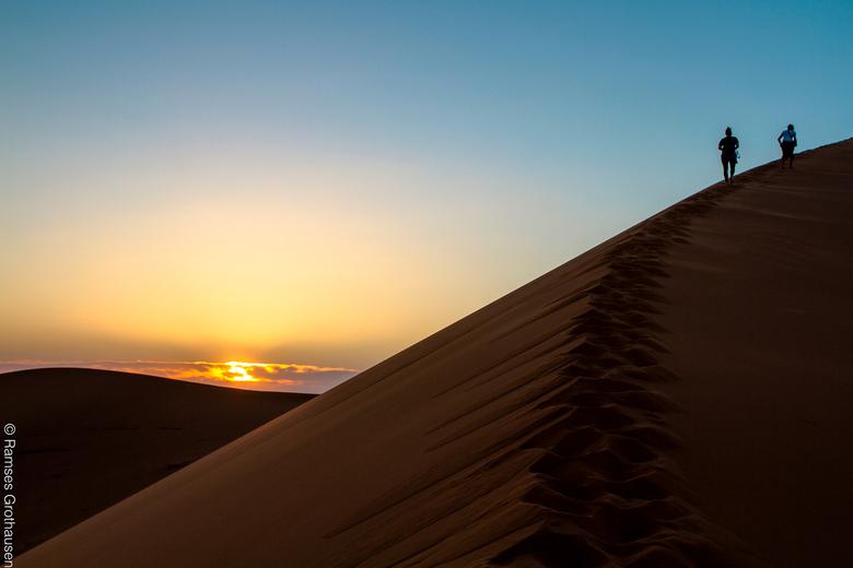 Marokko zonsondergang -