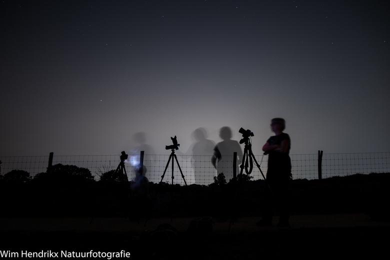 Stargazing - Geprobeerd om de sterrenhemel vast te leggen. Maar helaas was het te licht van de lichtvervuiling. Wel een lange sluitertijd gebruikt, 30