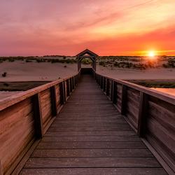 Sunset in Petten
