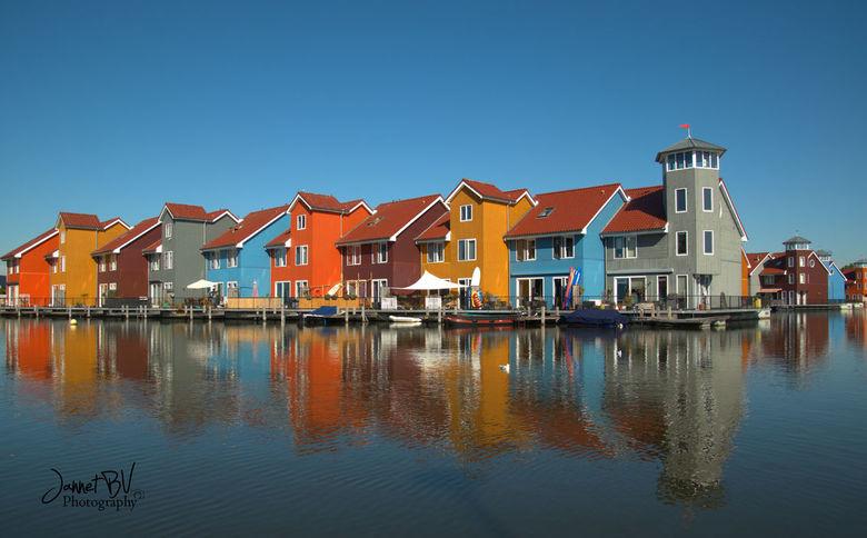 Huisjes reitdiephaven Groningen - De huisjes in groningen aan het reitdiephaven