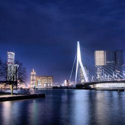 Rotterdam @ night hdr