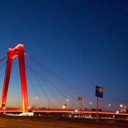 Fotograaf4U - Willembrug Rotterdam (Nightshot)