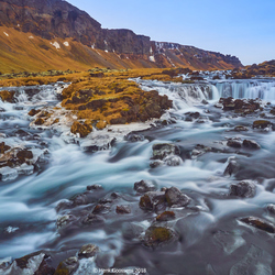 Skoga-river near the ringroad A1, Iceland