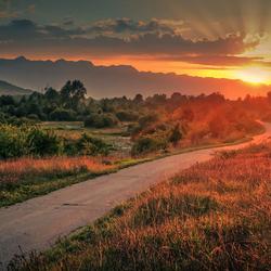 De weg naar Lovinac