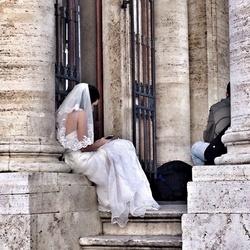Bruiloftfeest in Rome