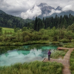 Exploring Zelenci NP. (iPhone)