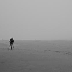 Eenzaamheid op het Strand