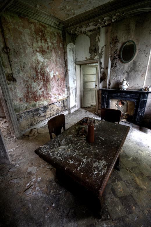 No appetite - Urbex in België. Dit was een verlaten woonhuis.