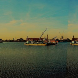 Panorama haven in Dordrecht......