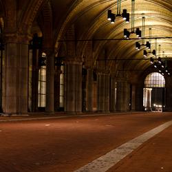 Fietstunnel Rijksmuseum Amsterdam