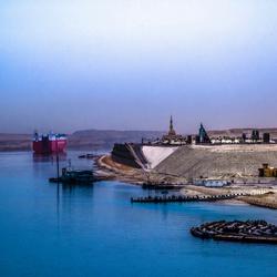 Suez kanaal werkzaamheden