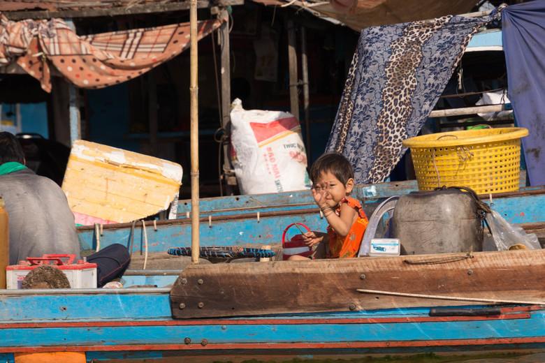 floating villaga Cambodja -