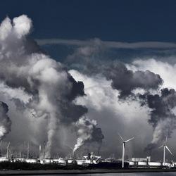 industrieel landschap maasvlakte rotterdam