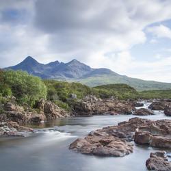 Sgùrr nan Gillean & Sligachan river