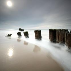 De zee, altijd in beweging...