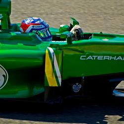 Formule 1 2013: Giedo aan het werk