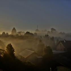 Wurzburg morning mist