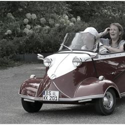 Oldtime plezier in een Messerschmitt ...