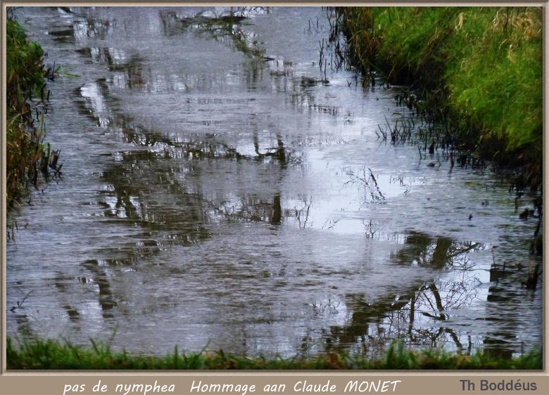 Hommage aan Claude Monet 1412300669mnw - ook opgedragen aan fotovriend Ada Gaag.<br /> 1 nacht IJS kan mooi zijn <br />