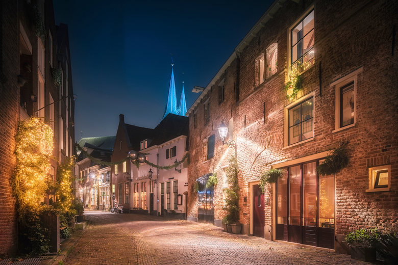 Deventer at Night -
