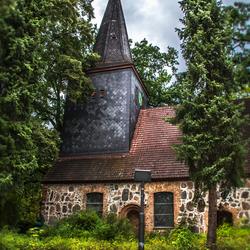 een oud kerkje in Berlijn