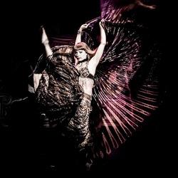 Danseres doet haar passie