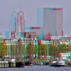 Veerhaven Rotterdam Skyline 3D
