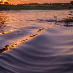 rivier de Weser in Duitsland
