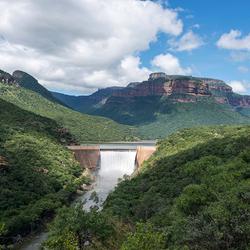 Swadini dam Zuid Afrika