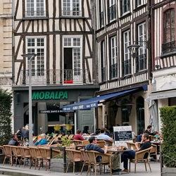 Rouen Normandië Franrijk.