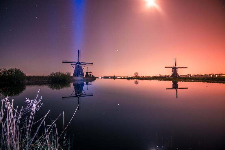 Kinderdijk - Kinderdijk Alien teleportatie